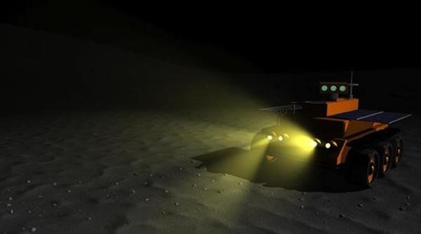 """美国宇航局""""夜间漫游者""""月球车可以长达半个月的黑暗环境中执行任务"""