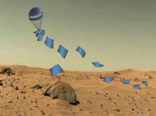 """美国宇航局批准研制一种扁平状登陆器""""二维行星表面登陆器"""""""