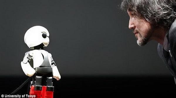 Kirobo机器人将消除宇航员的太空孤独感