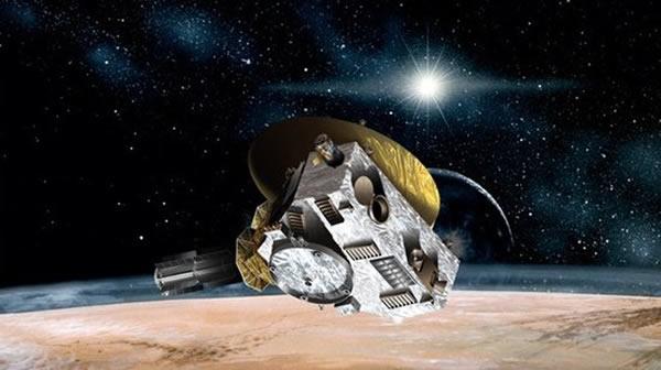 """""""新地平线""""号探测器由美国宇航局研制,是一艘专门为冥王星天体系统打造的空间探测器"""