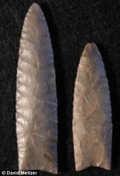 一些科学家认为,克洛维斯人选择放弃长矛,并非由一颗彗星的撞击造成灭绝。
