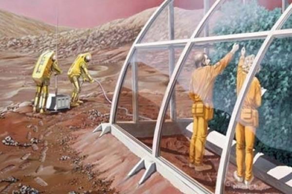 """""""一号火星""""计划预计10年后向火星遣送首批移民"""