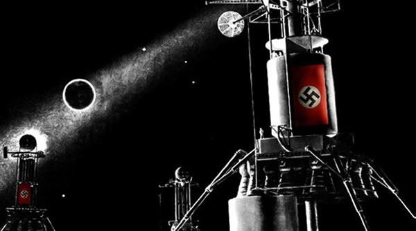 """二战时期,德国工程师提出各种""""不可思议""""的工程设想,在火箭专家的努力下,登月并非遥不可及"""