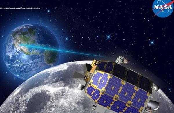 未来登月任务中或将使用先进的激光通讯技术,传输速率更快,仪器的体积也可大大降低