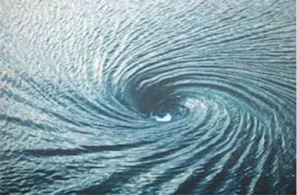 物理学家在南大西洋观测发现神秘的海洋漩涡黑洞,与宇宙黑洞有着相似之处