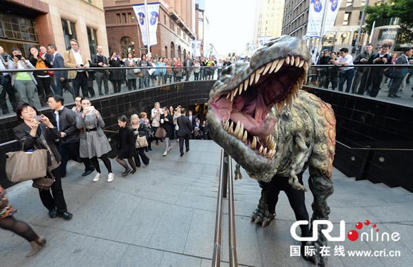中国暴龙化石将首次在澳大利亚展出