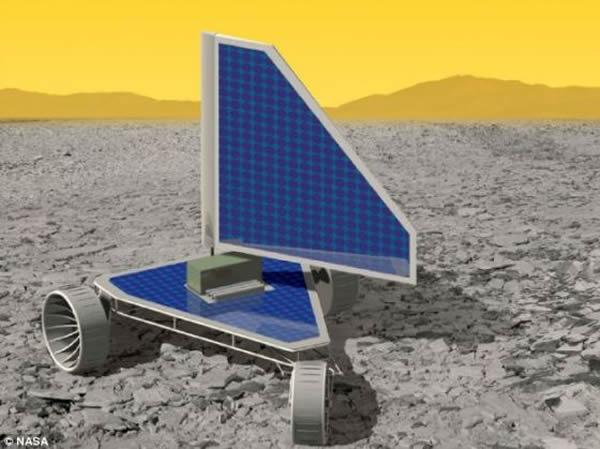 美宇航局正设想向金星发送一辆新概念漫游车,根据设计,它可以使用极少的能源,并在极端高温下生存