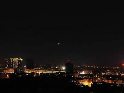新化发现疑似UFO事件