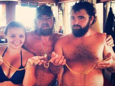 """美国海上寻宝""""专业户""""在佛罗里达州附近海底发现价值不菲的宝物"""