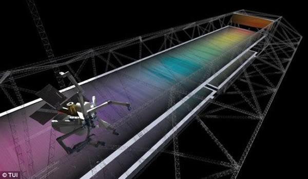 蜘蛛制造仪能够确保航天器系统以紧凑和耐用的胚胎状态发射升空,一旦在太空中部署展开,采用自动化装配技术将形成庞大的太空结构