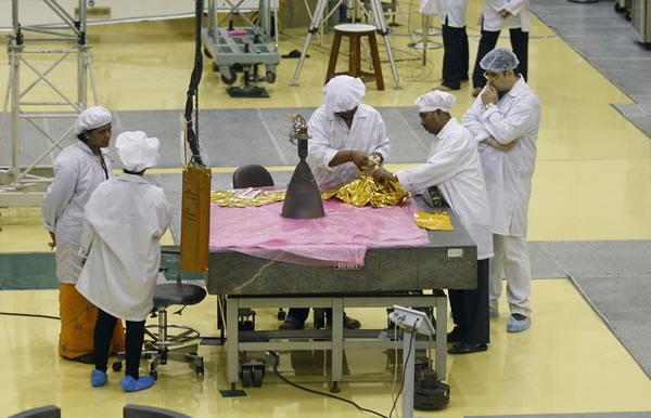 印度研制火星太空飞船
