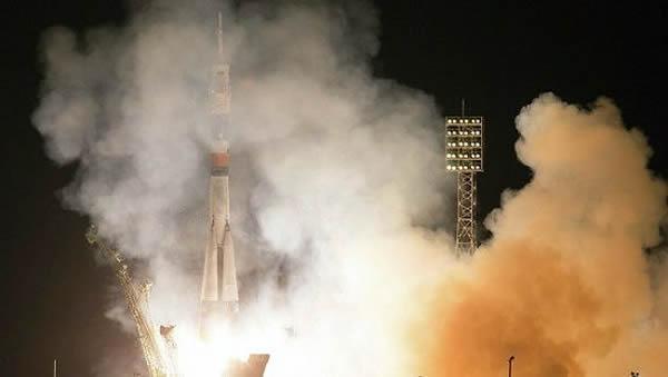 俄罗斯联盟号TMA-10M航天飞船已经发射前往国际空间站