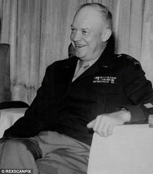 美国前国会及国防部顾问古德爆料,前总统艾森豪威尔(见图)曾三度晤外星人。