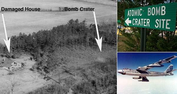 美国空军曾经发生两起核弹掉落失踪事件