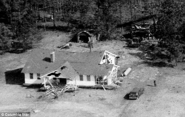 1958年,美国空军在南卡罗来纳州不慎跌落核弹
