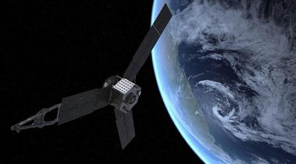 """美国宇航局研制的""""朱诺""""木星探测器造价为11亿美元,2011年发射,目前正运行在加速轨道上,2016年抵达木星"""