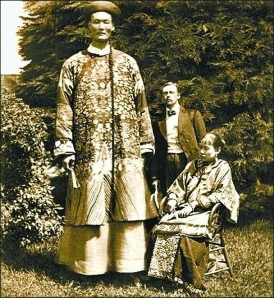 """清朝的""""世界第一长人""""詹世钗?"""