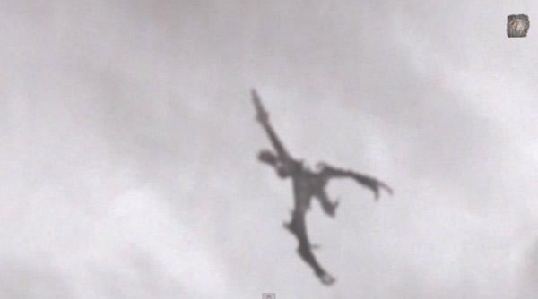 英國天空出現似翼手龍的神秘不明生物