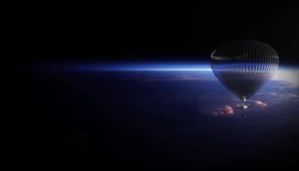 美国公司计划让乘客搭乘氦气球太空舱体验身在太空边界的感觉