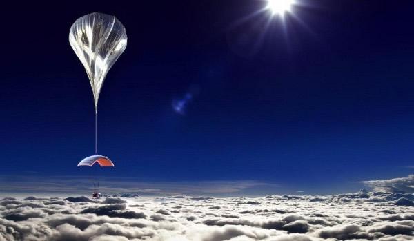 美国World View公司氦气球太空游项目