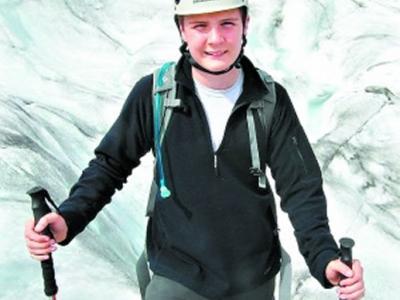 英国15岁少年欲滑雪闯南极