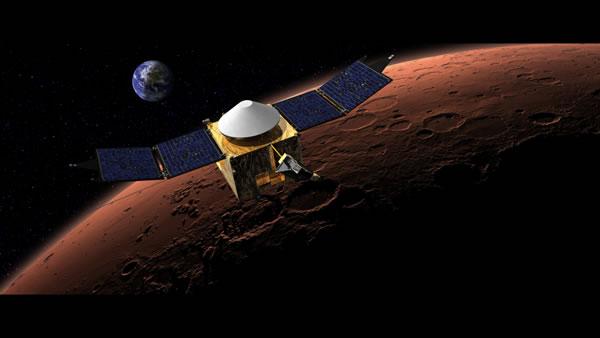 美国MAVEN航天器将携带8种仪器研究火星大气层的细节