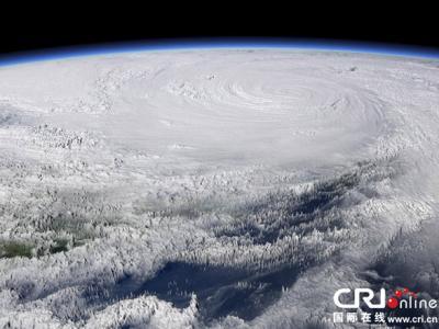 台风海燕席卷菲律宾壮观3D效果图