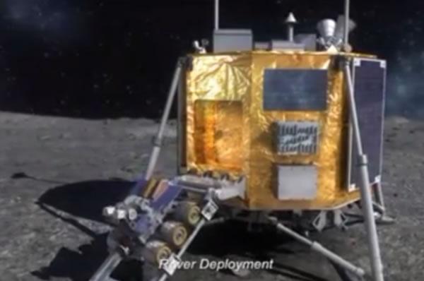 韩国公布的登月舱