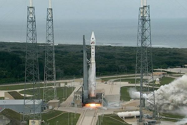 """""""宇宙神V型""""火箭搭载""""火星大气与挥发演化""""探测器点火升空"""