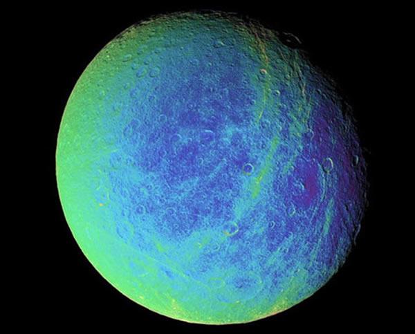 土卫五是土星第二大卫星