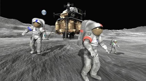 """伴随着近年来,其它国家制定月球登陆计划,美国提议立法保护其月球""""文化遗产"""""""