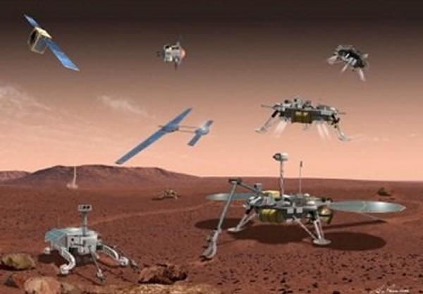 日本的MELOS火星探测计划非常复杂,还包含了人类首架在外星使用的无人机。