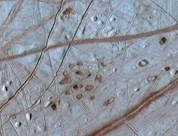 木卫二表面