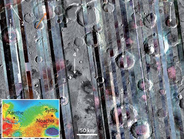 火星或富含长石矿