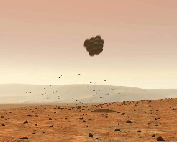 勇气号和机遇号火星车的缓冲着陆方式在当时非常先进