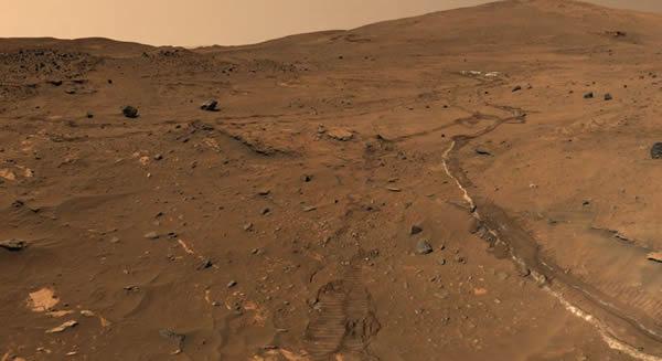 两辆火星车发现了关于火星远古湖泊的证据
