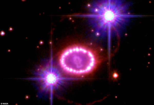 超新星爆发是宇宙中天体重生的一个标志之一