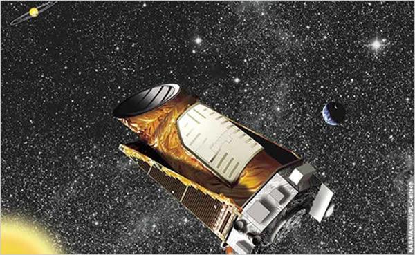NASA的开普勒航天器
