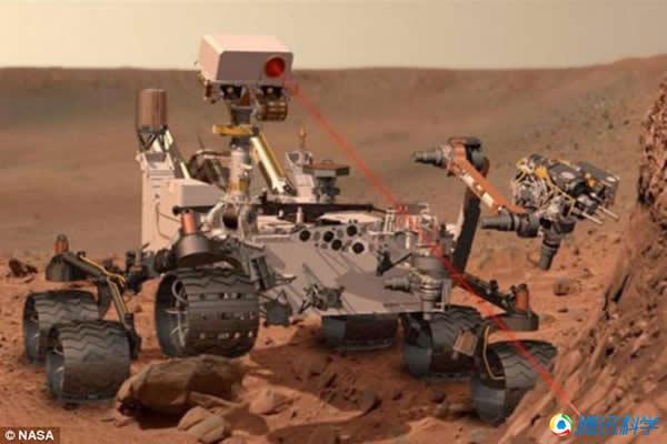 好奇号是一台可移动的火星科学实验室。