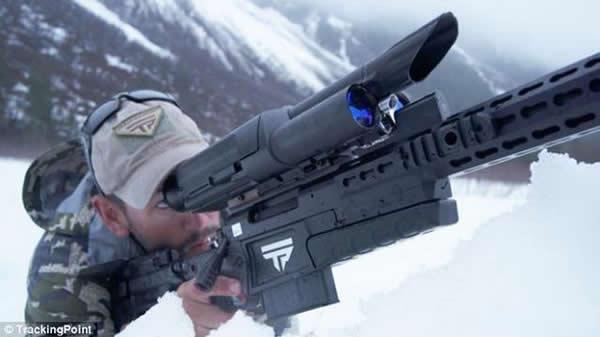 美国军方一种智能步枪使任何人成为一流狙击手