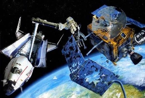 日本航空研究开发机构测试用钢丝绳清理太空垃圾