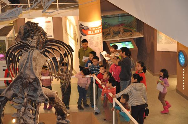 """中国古动物馆举办""""博物馆奇妙夜""""活动"""