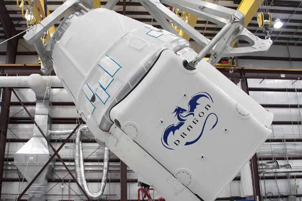"""""""龙""""式无人驾驶货运飞船将为空间站送入大气颗粒物的调查仪器"""