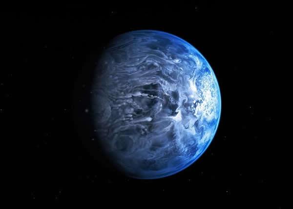 下玻璃雨的星球