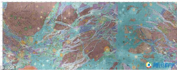 科学家发现木卫三上拥有多种地形地貌