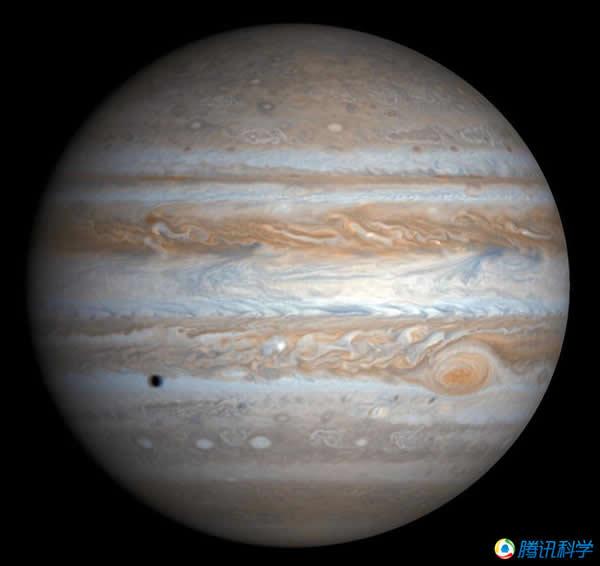 木卫三受到木星强大潮汐力的影响
