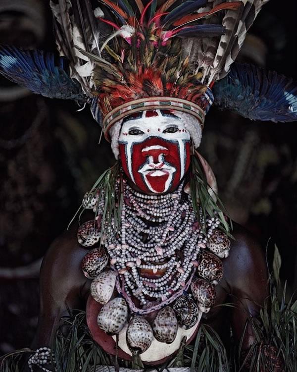 巴布亚新几内亚岛上的戈罗卡部落