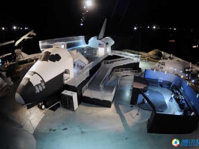 美国国家空军博物馆展出全尺寸航天飞机