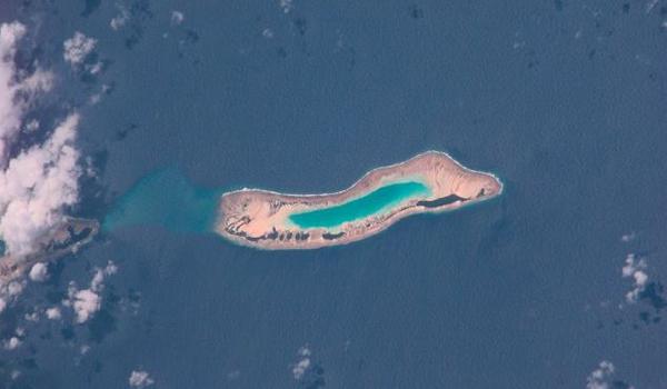 """太平洋中部诺克斯环礁遭台风卷走百年后再""""复活"""""""