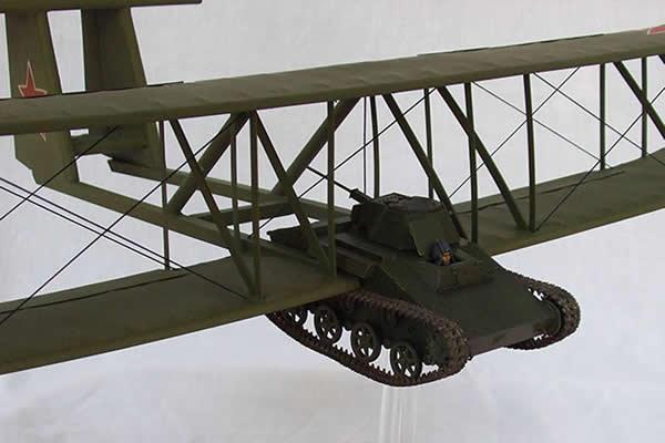 1930年代研制的会飞坦克被认为是杀手锏武器
